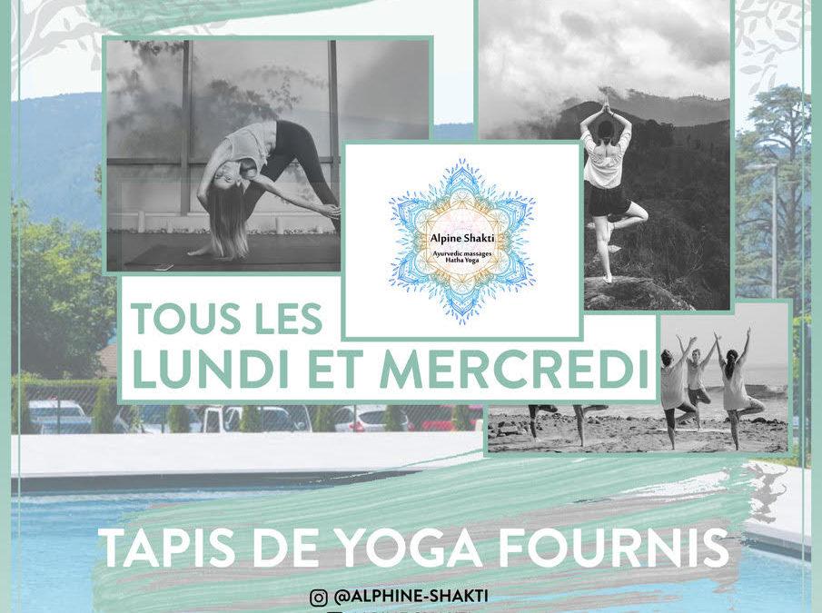 Hatha Yoga au Flora – Talloires-Montmin